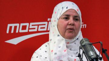'La Tunisie en avant'  solidaire avec Mbarka Brahmi