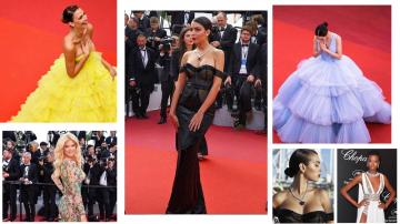 Les stars habillées en Ali Karoui à Cannes