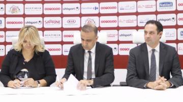 Signature de l'accord de l'organisation de la Super Coupe