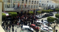 صفاقس: تجمع عمّالي تنديدا بتهديد كاتب عام الإتحاد الجهوي
