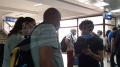 موزاييك في مطار قرطاج لمتابعة أولى الرحلات الجويّة
