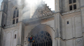 فرنسا: اندلاع حريق في كاتدرائية نانت