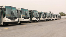 تسخير وسائل نقل عمومية لتأمين عودة مواطنين عالقين بمحطات النقل