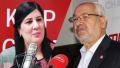 ARP: Altercation verbale entre Abir Moussi et Rached Ghannouchi