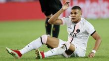 Ligue des champions:  Mbappé sort sur blessure à Bruges