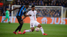 Ligue des champions: Le Paris SG tenu en échec à Bruges