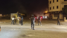 Nouveaux heurts nocturnes à Sidi Hassine