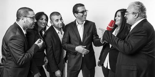 الضيوف :بسام الطريفي, رضا بو الأبيار ,منير الساحلي وليلى بن صالح