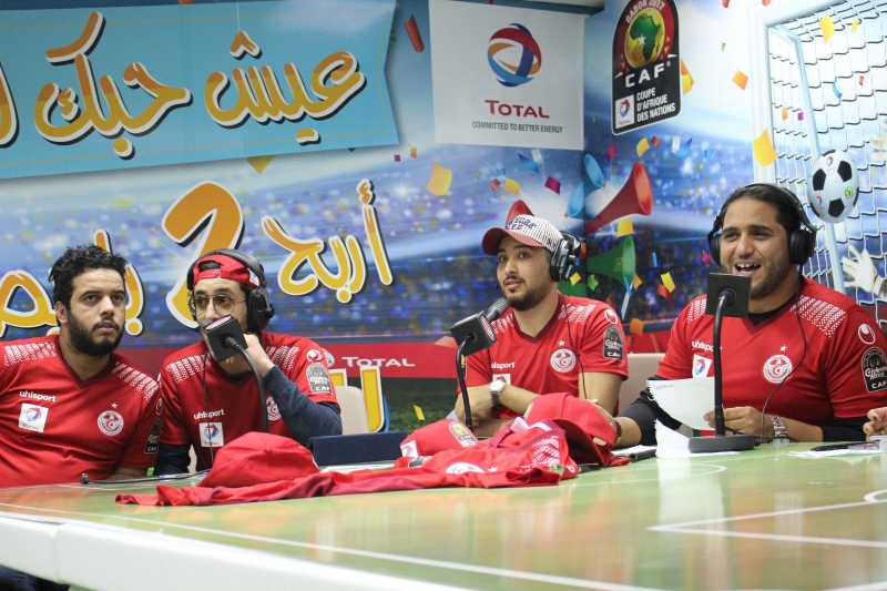 Chellet Amine: un numéro spécial au siège de TOTAL à Tunis