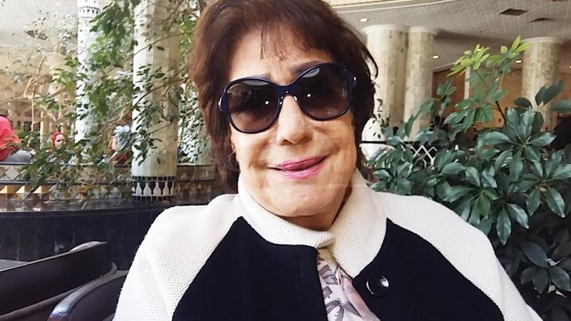 النجمة المصرية 'سميحة أيوب' تتحدث لموزاييك