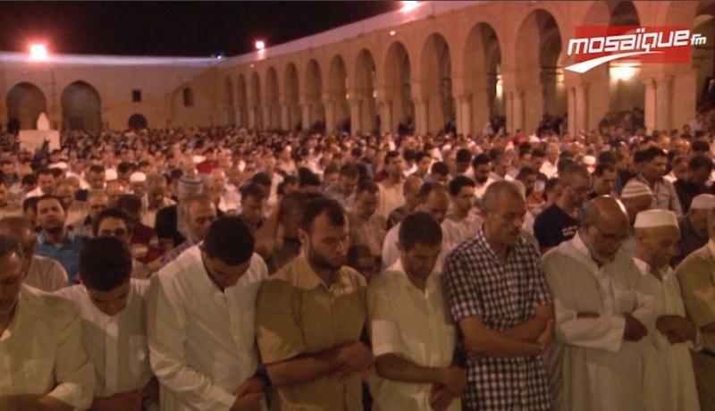 Ambiance festive à la Grande Mosquée de Kairouan à l'occasion de Laylat al-Qadr