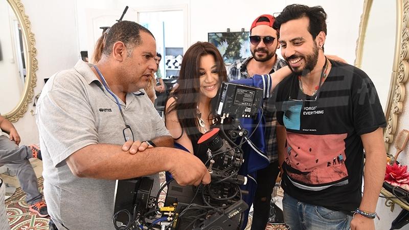 Exclusif pour Mosaïque FM: les coulisses du nouveau clip de Yosra Mahnouch