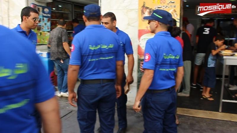 حملة وطنية للشرطة البيئية وسط العاصمة