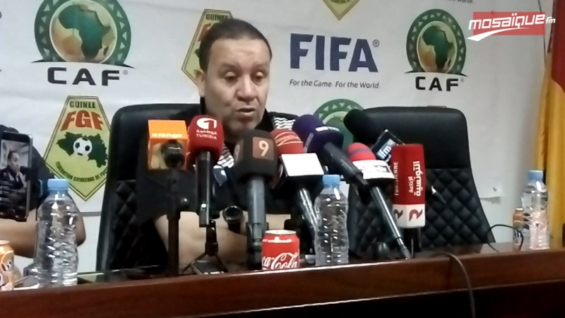 EN: Conférence de presse de Nabil Maaloul