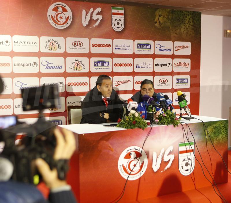 مؤتمر صحفي للمدرب نبيل معلول قبل مباراة تونس وإيران