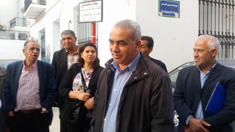 مناوشات بين ولي وعدد من النقابيين بسبب إضراب الأساتذة