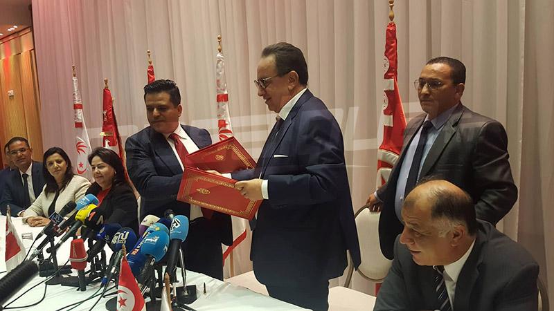 Slim Riahi appelle les forces nationale à se joindre à nidaa tounes