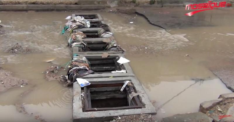 Douar Hicher: Les pluies dévoilent l'infrastructure fragile