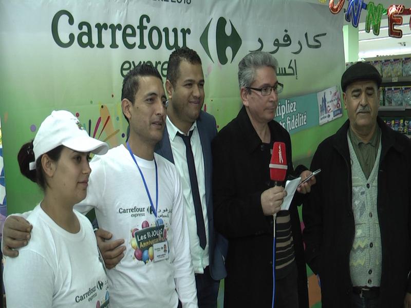 Avec Carrefour, vous gagnez et vous faites gagner vos voisins