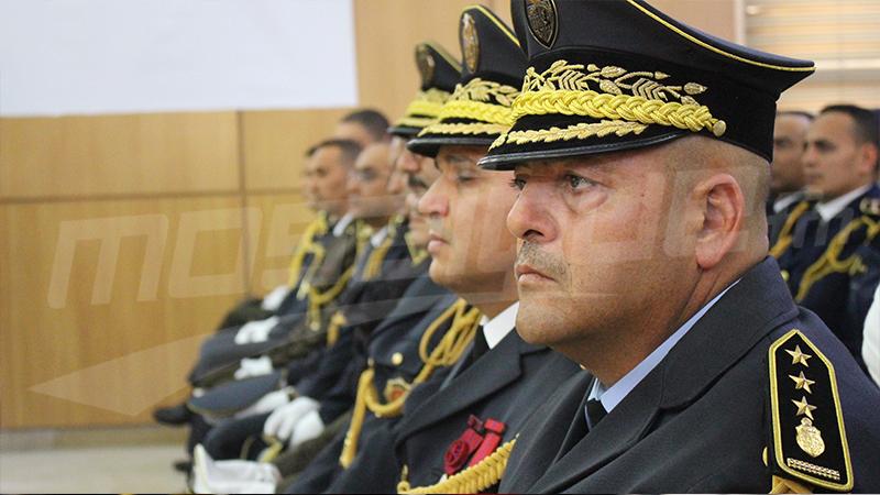 Décoration des cadres et agents des forces de la sécurité intérieure à l'occasion du 63ème anniversaire.