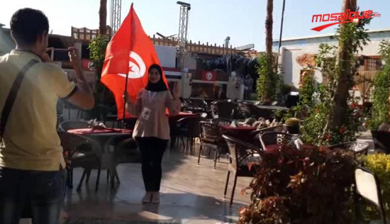 Tunisie - Angola: L'ambiance d'avant match à Suez