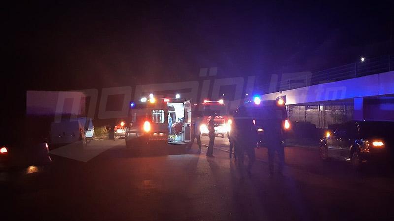 السيطرة على حريق قبة المنزه وإيقاف عدد من المشتبه بهم