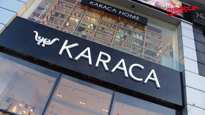 Inauguration de la boutique Karaca à la Soukra