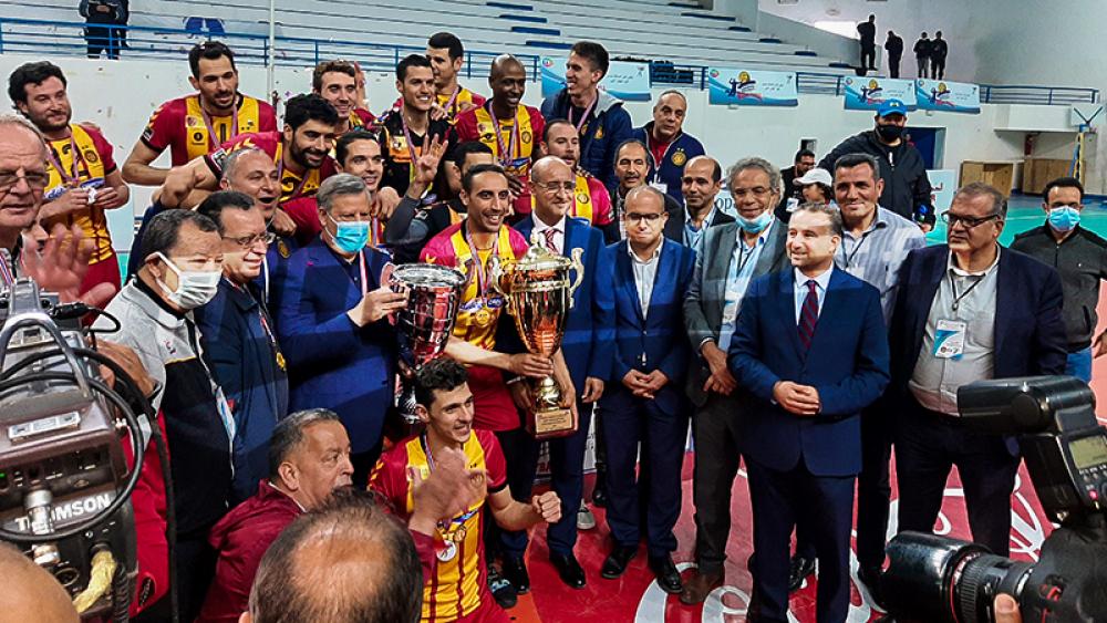 Volley-ball: L'EST ajoute la Coupe au championnat