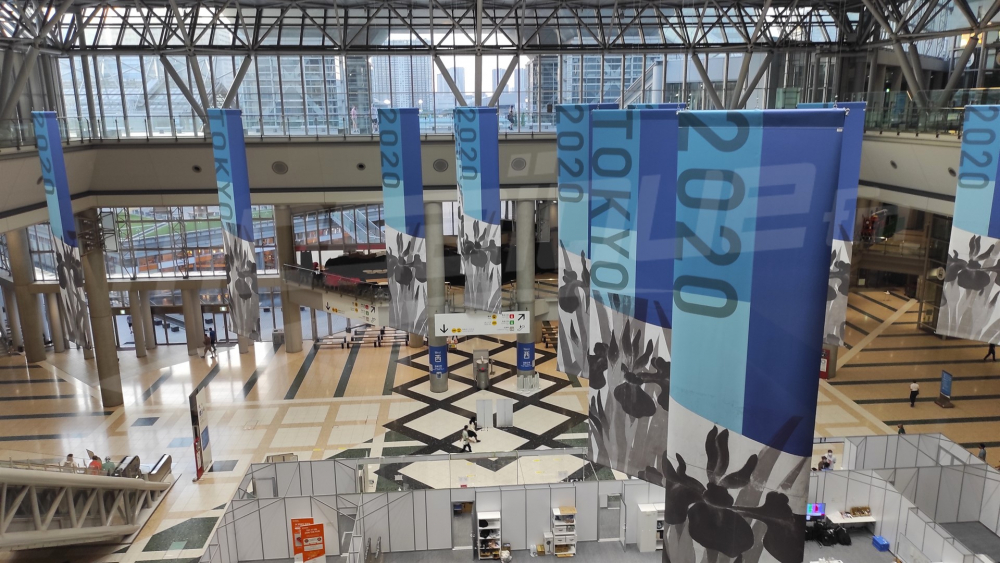 Tokyo 2020 : تنقل الصحافيين من النزل إلى المركز الإعلامي