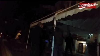 صفاقس : تركيز خيمتي اعتصام بحضور النائب شفيق العيادي
