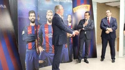 'لاند دور' شريك إقليمي لنادي برشلونة لمدة 3 سنوات