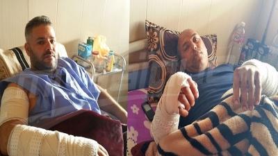 المصابان الأكثر تضررا في هجوم الكلاب بسيدي منصور في صفاقس