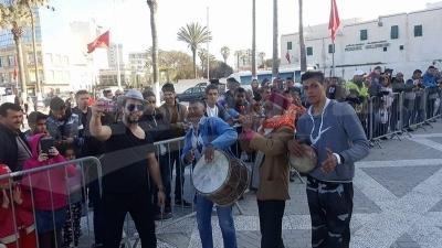 Baalouche fait son show à Sousse