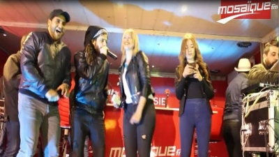 Chellet Amine à Sousse: Kafon chante avec le public