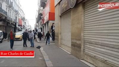 تونس العاصمة: المحلات التجارية مقفلة احتجاجا على الإنتصاب العشوائي