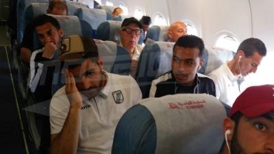 Départ du CSS pour Ouagadougou : l'ambiance dans l'avion
