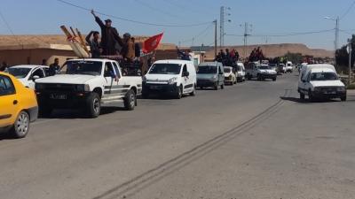 Tataouine : 1500 jeunes en sit-in à El Kamour