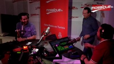 Crise d'hystérie d'Alaa Chebbi à Mosaïque FM