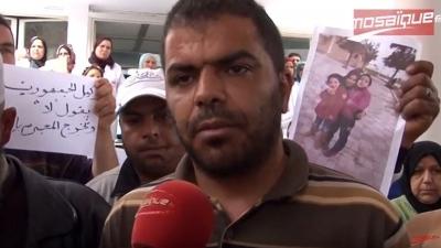 La famille de la victime de viol manifeste à Kairouan