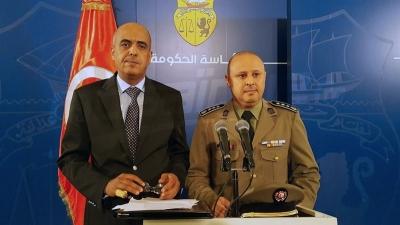 ندوة صحفية لوزارتي الدفاع والداخلية حول الوضع في تطاوين