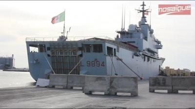 لمقاومة الهجرة غير الشرعية:البارجة البحرية صوفيا لأول مرة في تونس