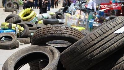 بن عروس: مداهمة مخازن السلع المهربة بسوق ليبيا