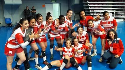 Triplé historique pour les Dames de CA en Handball