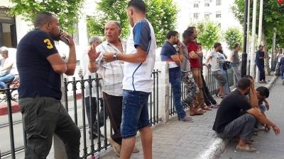 Les vendeurs ambulants protestent: Voici nos problèmes et nos revendications