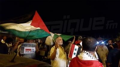 قرطاج: احتجاجات قبل عرض ميشال بوجناح