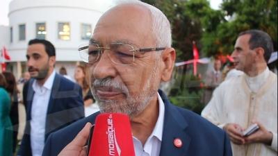 راشد الغنوشي : 'نتمنى أن يتوافق السّراج وحفتر كما توافقنا في تونس'