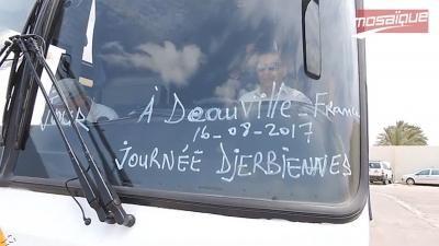 Un autocar se dirige de Djerba à Deauville (France) pour  promouvoir le tourisme