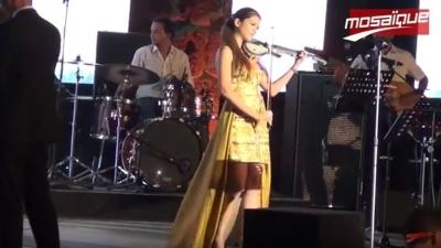Yasmine Azaiez enchante le public de Carthage