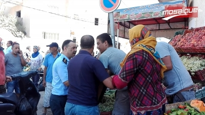 سوسة: تجار السوق المركزية بحي الرياض يغلقون محلاتهم
