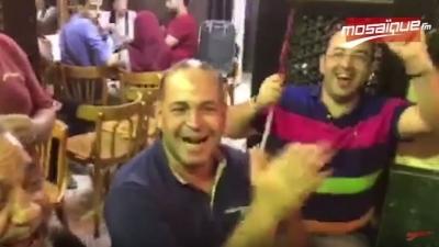 Les supporters de l'EST au Caire